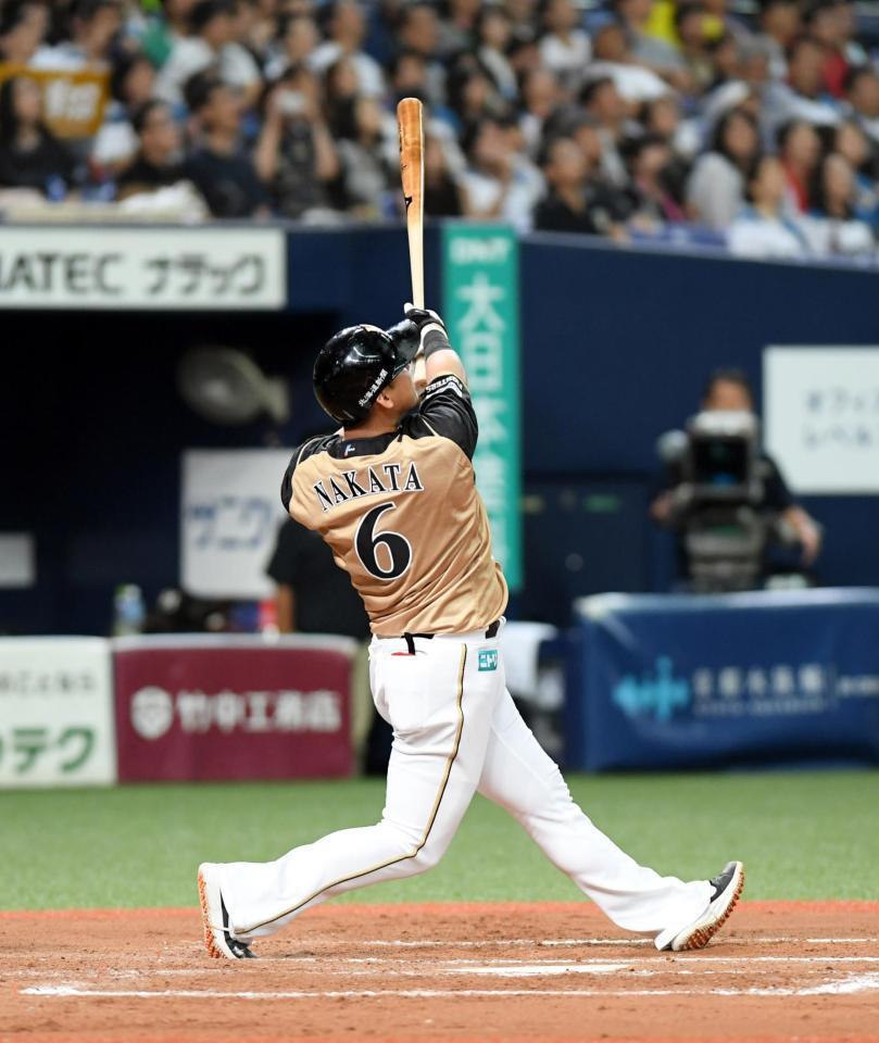 日本ハム・中田翔が特大のエンタイトル2ベースで復帰即猛打賞/野球 ...