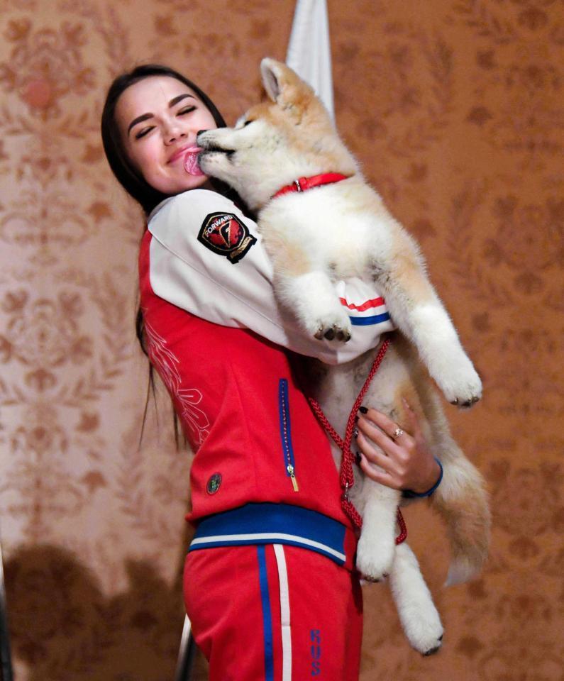 ザギトワ、愛犬・マサルにメロメロ 「マサルのことは永遠に