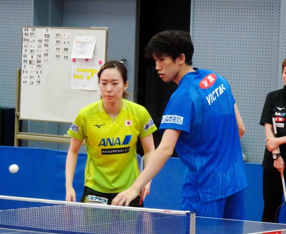 卓球 オリンピック 吉村