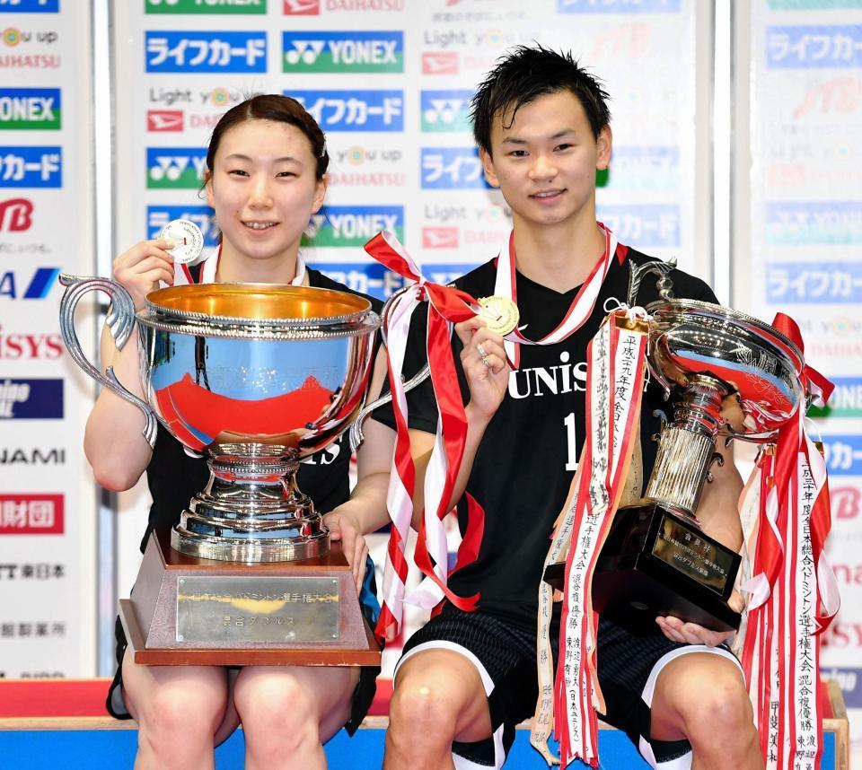 有紗 東野 バドミントンの東野有紗はオリンピック出場ほぼ確実!ジャンピングスマッシュが得意な混合ダブルスの選手