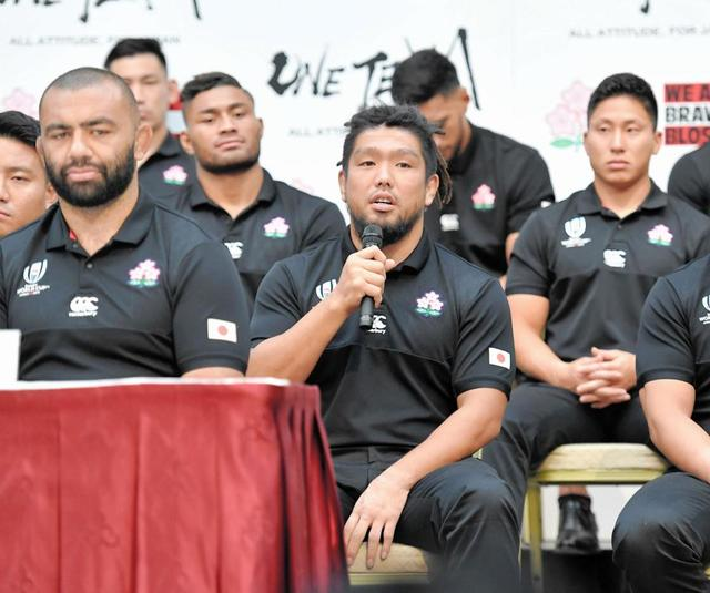 ラグビー日本代表・堀江 ドレッドヘアは「一応洗うんですけど