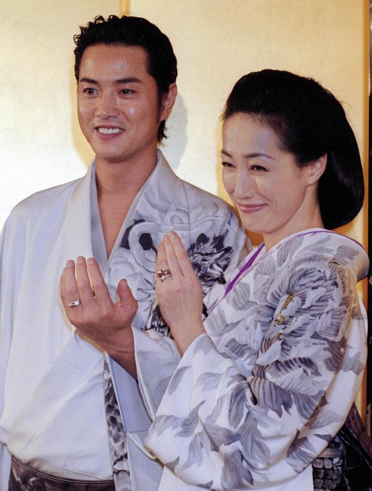 高島 礼子 結婚