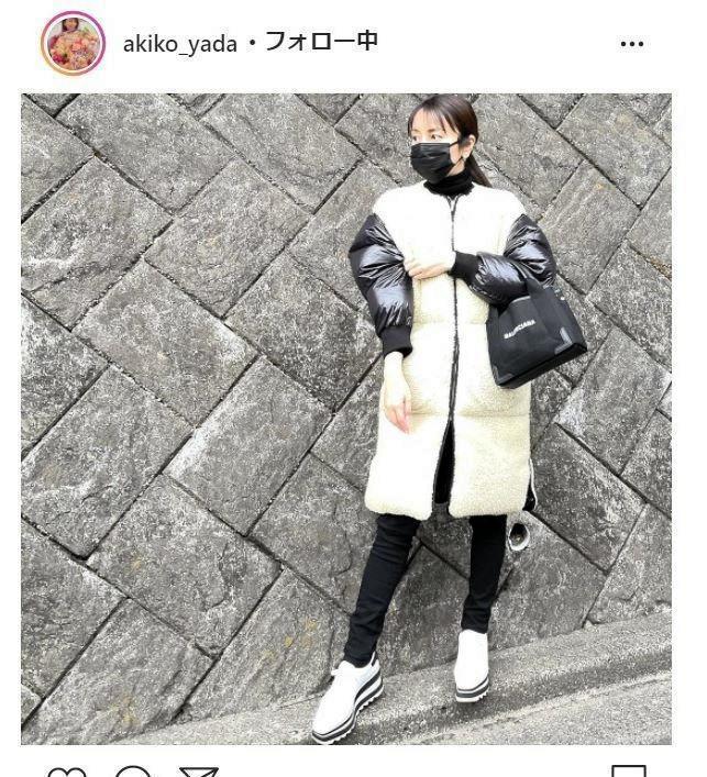 インスタ 矢田 亜希子
