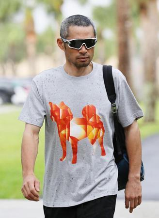 イチロー\u201c愛犬Tシャツ\u201dで球場入り オモシロ路線から一転\u2026