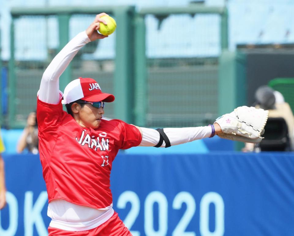 ソフトボール日本代表が白星発進 なでしこ執念ドロー!