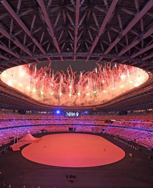 東京五輪開会式 ドラクエで入場 最終聖火ランナーは大坂なおみ
