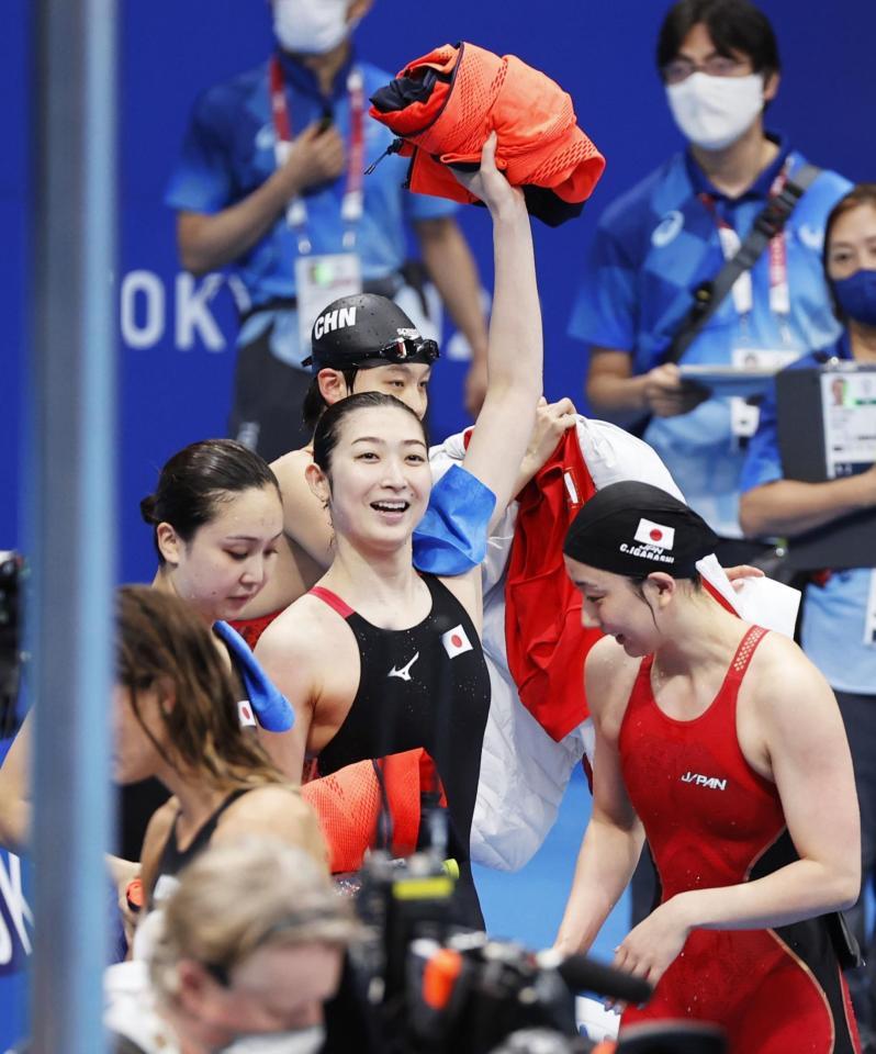 池江璃花子に涙「すごい幸せ」 八村&松山は無念も…体操・萱がメダル獲得