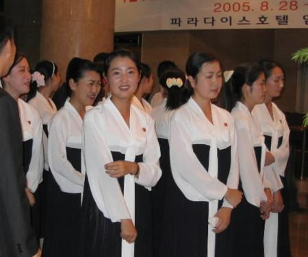 スポーツ】北朝鮮の「美女軍団」...
