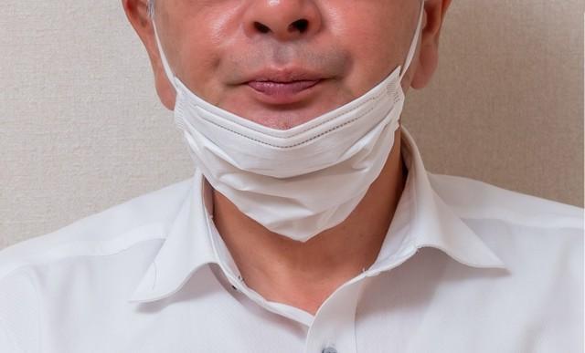 ずれる マスク